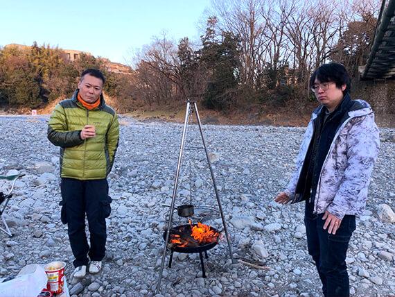 焚き火ハイボールの会
