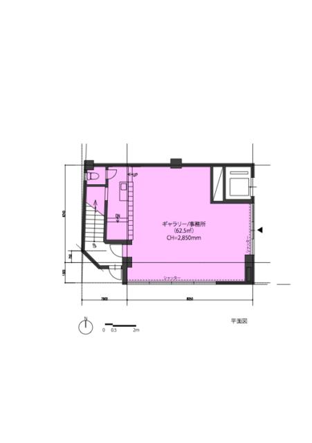 物件情報② 駅前路地ビルの角:元糸屋さん